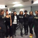 BGBB co-founders with members of Columbia's Black Student Union!